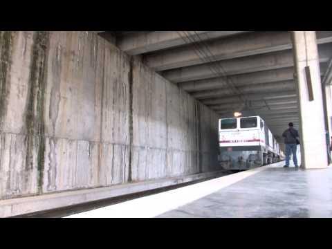 Al Andalus Express saliendo de Córdoba