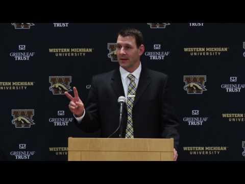 WMU Football: Tim Lester Announced as Head Football Coach