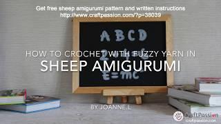 Sunnia Sheep Amigurumi - Free Crochet Pattern | Craft Passion