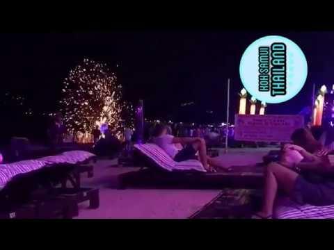 KOH SAMUI BEACH NIGHTLIFE + THAI FOOD 🔥 🌊🌴 Ark Bar, Chaweng beach , green mango, cubos club