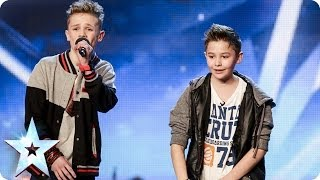Repeat youtube video Bars & Melody - Simon Cowell's Golden Buzzer act | Britain's Got Talent 2014