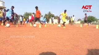 Football Summer Camp @ Nellore || ACT24X7HDNEWS