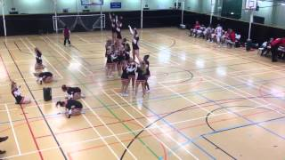 Solent Ravens Cheerleading Routine @ St Mary