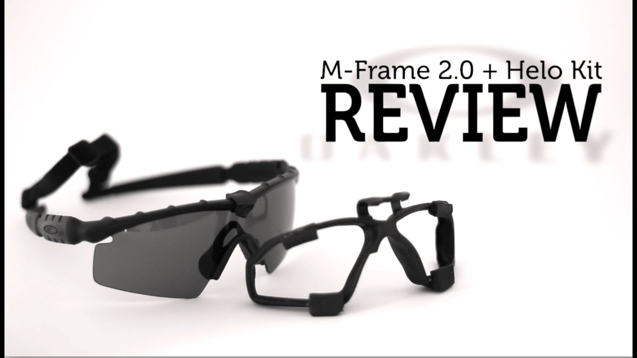 oakley m frame helo kit review