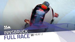 Innsbruck | BMW IBSF World Cup 2020/2021 - Women's Bobsleigh Heat 2 | IBSF Official