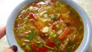 Щи постные (Fleischlose Suppe)
