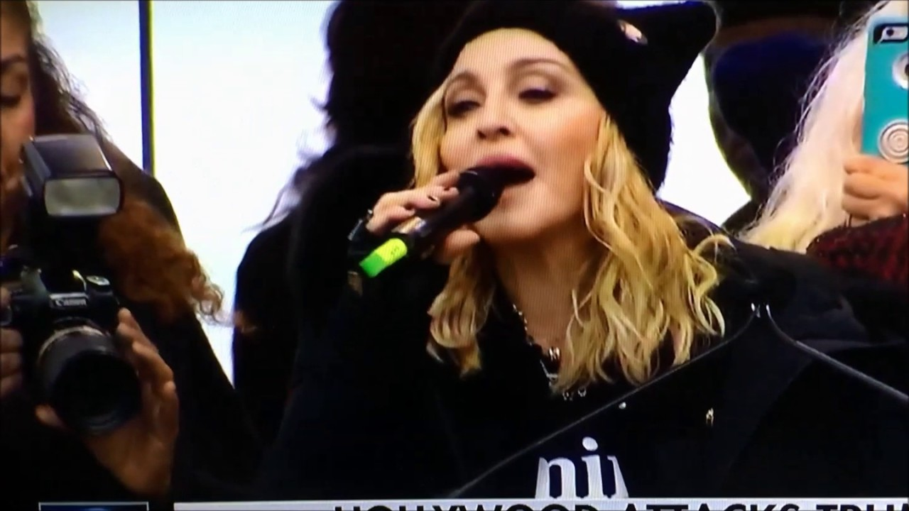 Madonna Threatens The ...