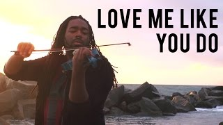 Ellie Goulding - Love Me Like You Do (DSharp Violin Cover)