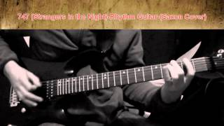 747 Strangers in the Night   Rhythm Guitar   Saxon Cover