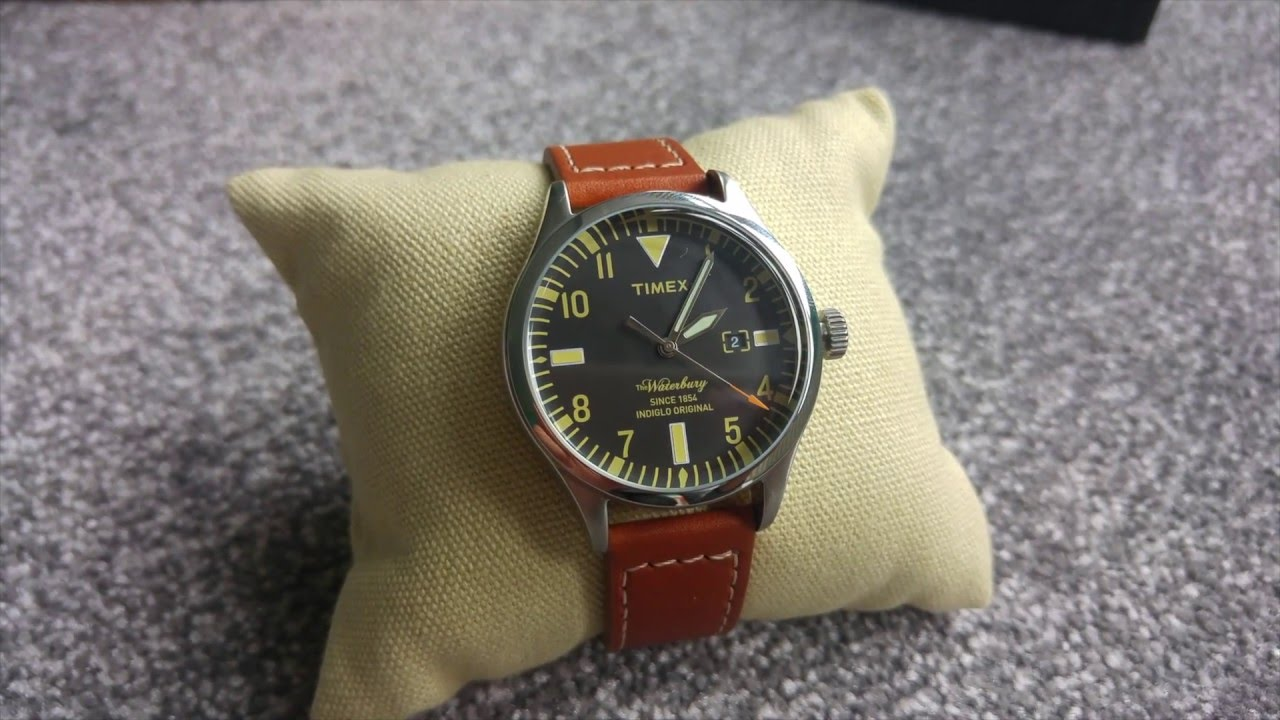 youtube watch waterbury timex motorcycle wing watches red hd