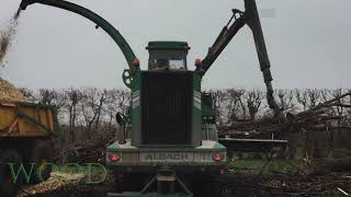 Cutting the tree with a giant machine || Dangerous.P2