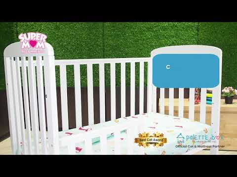 SuperMom Recommends: Sweet Dreams 7 in 1 Convertible Cot