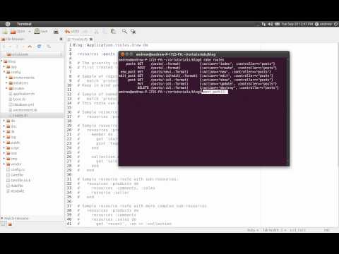 Ruby on Rails Tutorial Part 3 - Routing