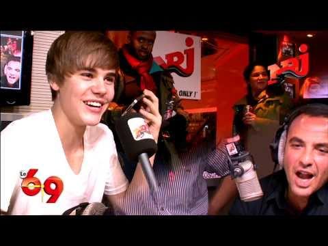 Justin Bieber calls Usher and makes a joke - Part 4 - Le 6/9 NRJ