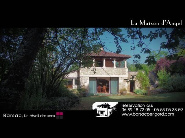 Gîte La maison d'Angel <br/>1 captation vidéo et 1 montage : 750€ ht <br/>