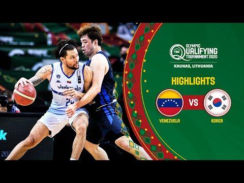 Venezuela - Korea | Game Recap - FIBA Olympic Qualifying Tournament 2020