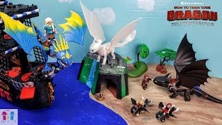 How To Train Your Dragon 3 Ending (Skit) The Hidden World - Playmobil Stories