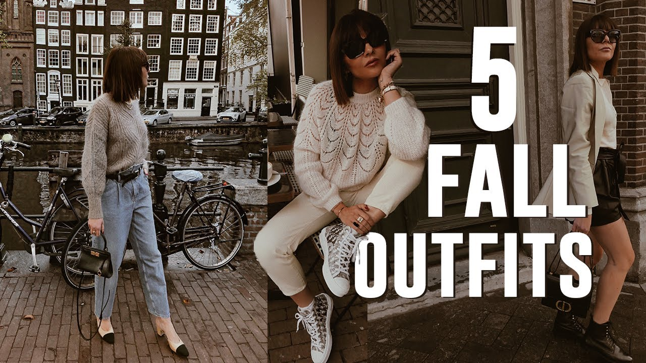 [VIDEO] - 5 Autumn Outfit Ideas 1