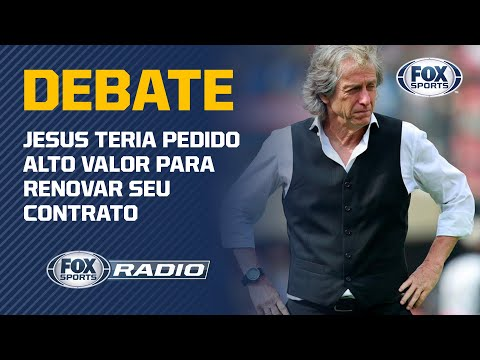 """JESUS PEDIU 40 MILHÕES PRA FICAR? Veja Debate No """"Fox Sports Rádio"""""""