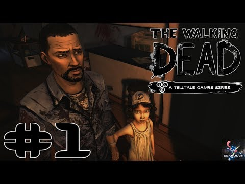 THE BEGINNING! - The Walking Dead (Walkthrough) Season 1, Episode 1- A New Day (Part 1)