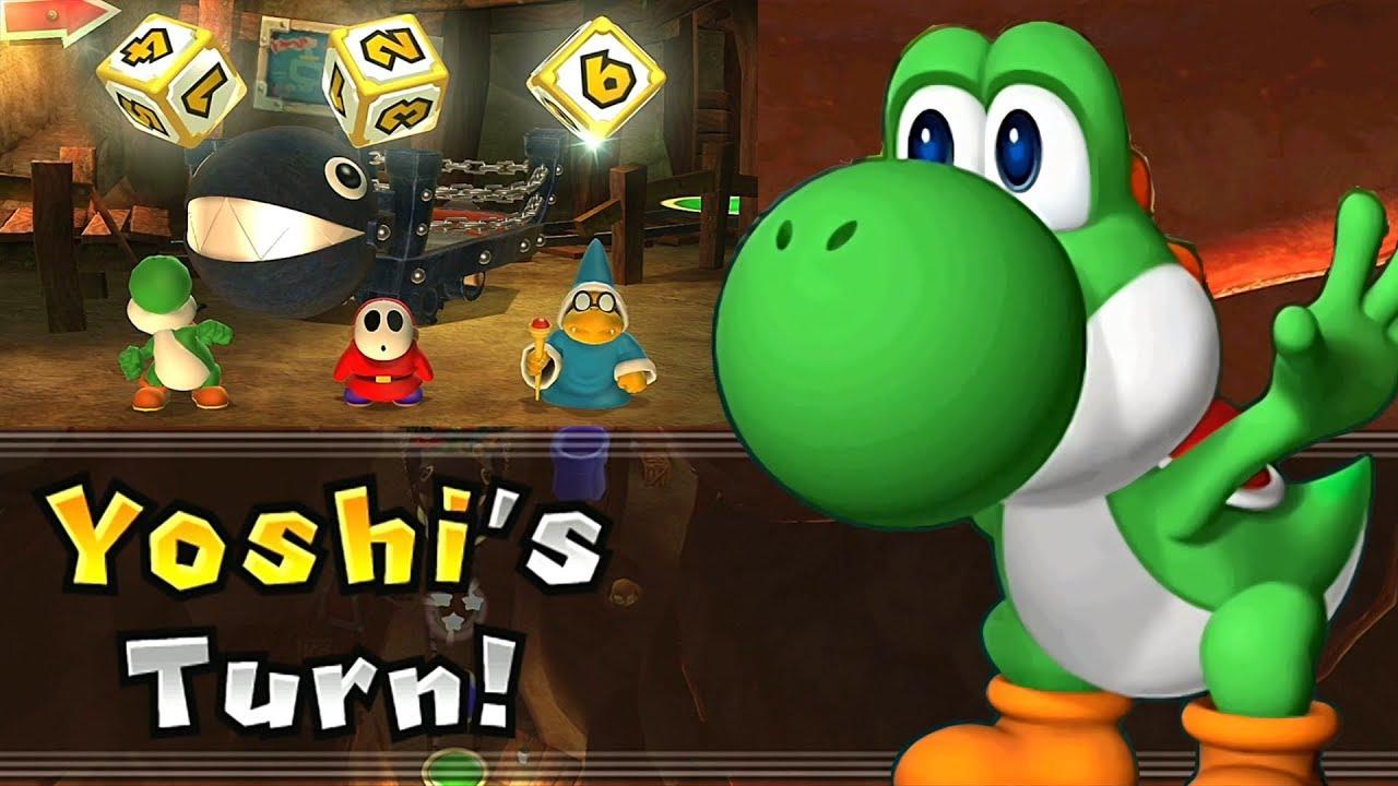 Mario Party 9 Solo Mode Yoshi Magma Mine Part 5 375 Youtube
