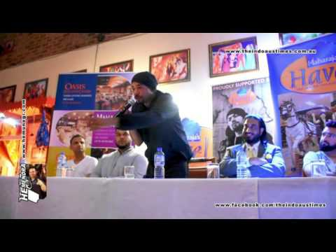 bohemia tells about his story in a press conference in sydne