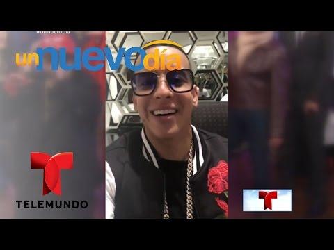 Daddy Yankee habla sobre la imitación de Adamari López | Un Nuevo Día | Telemundo