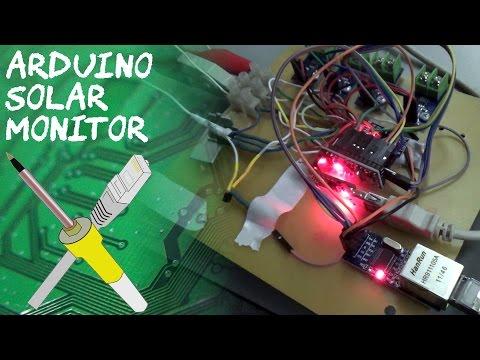 BitBastelei #173 - Arduino Solar-Monitor