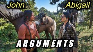 John and Abigail Arguments and Conversations (Pre-Epilogue) / Hidden Dialogue / RDR2