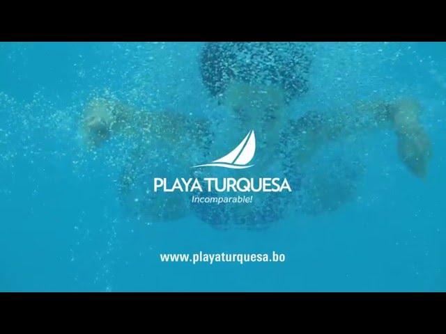 Millones de burbujas cristalinas garantizadas en Playa Turquesa