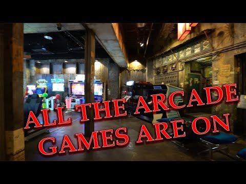 Tokyo's Abandoned Themed Arcade
