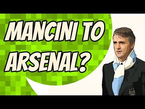 Roberto Mancini wants to replace Arsene Wenger at Arsenal