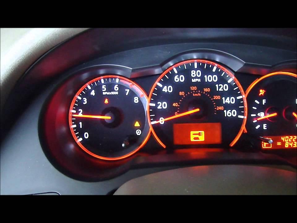 2008 Nissan Altima 2 5 Sl Start Up Youtube