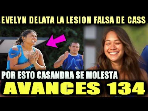 CASANDRA FINJE SU LESI0N Y CULPA A EVELIN POR DELATARLA EXATLON MEXICO TITANES Y HEROES CAPITULO 134