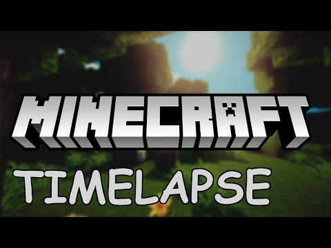 Minecraft Timelapse #2 - Animals And Mining
