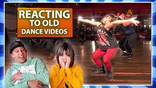 REACTING TO OUR OLD DANCE VIDEOS w/ Bailey Sok Video
