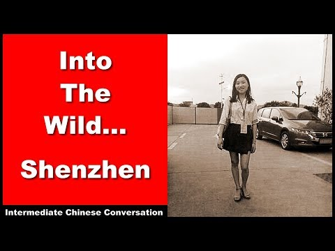 Into The Wild... Shenzhen - Learn Intermediate Chinese Conversation and Vocabulary