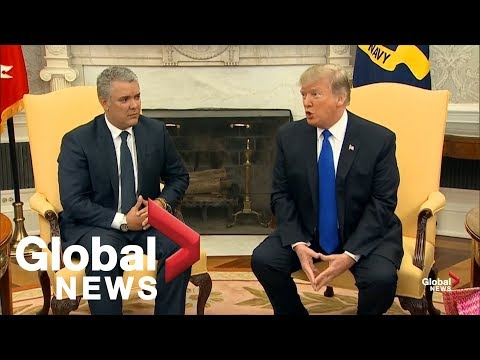 Trump talks shutdown, border wall, Venezuela and more in Oval Office meeting Mp3