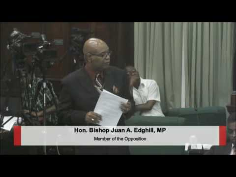Hon. Bishop Juan A. Edghill's Opening Presentations on GPL Motion