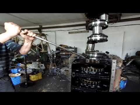 Как вытащить коленвал из двигателя ЯМЗ-240.