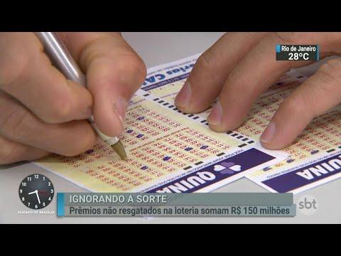 Ganhadores da Loteria deixaram de retirar mais de R$ 150 milhões  | SBT Brasil (04/08/18)