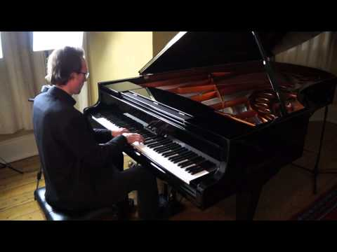 "James Bacon: Through Time and Space - 24 Preludes for Solo Piano. ""Toccata""."