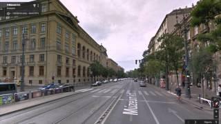 Часть 13. Город Будапешт. Part 13. City Budapest(Картографические данные: Google, DigitalGlobe Map data : Google, DigitalGlobe Видео создано на основе дорожных панорам и Карт Google..., 2016-03-04T19:20:59.000Z)