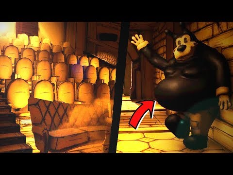 BENDY DLC/CHAPTER 4 ? NEW FAN MADE Bendy And The Ink Machine GAME!