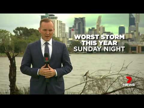 More wild weather for Perth