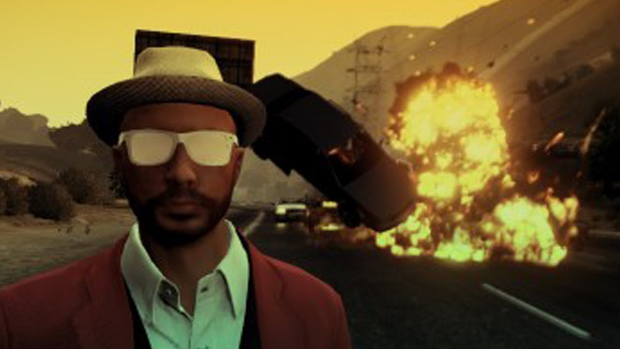 COOL GUYS DON'T LOOK AT EXPLOSIONS (GTA V Online w/ Goldy ...