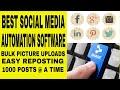 2019 BEST SOCIAL MEDIA AUTOMATION SOFTWARE - POSTCRON BULK POSTING VS Hootsuite VS Buffer Schedule