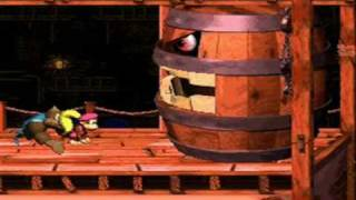 Donkey Kong Country 3 (SNES) Boss Battles