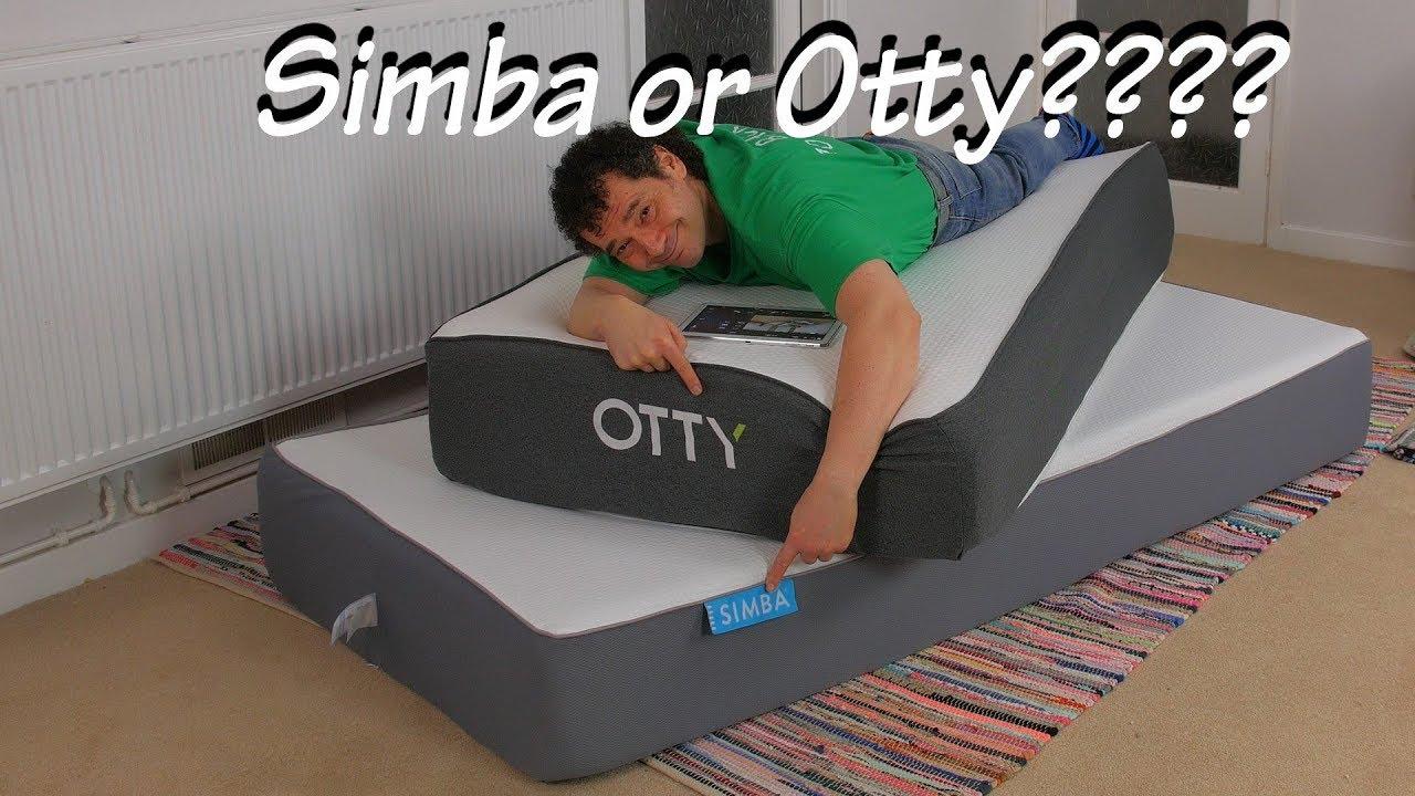Simba Matras Review : Simba mattress vs otty mattress review full comparison youtube