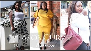ASOS CURVE WORK WEAR LOOK BOOK | AD